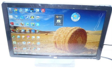 "HP w2338h Black 23"" 5ms Full HD 1080P HDMI Widescreen LCD Monitor , Built in Speakers(USED), SCRATCHES"