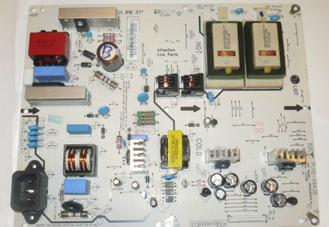 JVC JLC37B3002 TV POWER SUPPLY BOARD 0500 0412 1310 / PLHD A943B