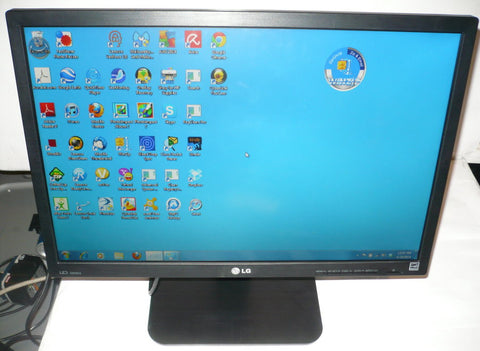 "LG 22EB23PY-B Black 22"" Widescreen LED Backlight LCD Monitor ,Built-in Speakers (USED)"
