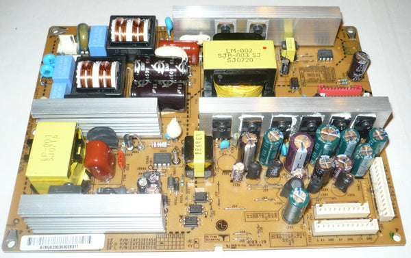 LG 23LS7D  TV POWER SUPPLY BOARD   EAX31845101/9  / EAY3302450