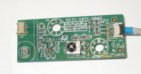 LG 42LD400UA TV BUTTON AND IR BOARD 3632 0122 0189
