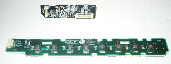 LG 47LK520  TV BUTTON AND IR BOARD   EAX61382501(8), EBR649550