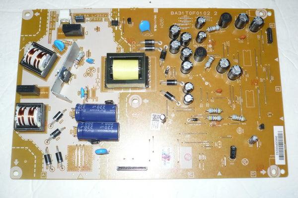 MAGNAVOX 39ME413VF7 TV POWER SUPPLY BOARD A31TAMMA-001 / BA31T0G0201 2