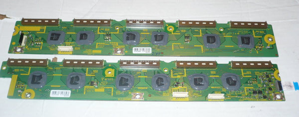 PANASONIC TCP60S30 PLASMA TV SC DRIVE BOARDS   TNPA5344, TNPA5343