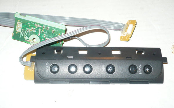 PHILIPS 32PFL3506F7  TV BUTTON AND IR BOARD   BA01F2F0103 1 D