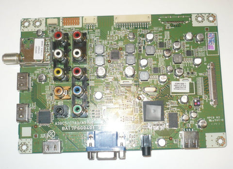 PHILIPS 40PFL3706F7 TV DIGITAL MAINBOARD A17P6MMA / BA17P6G0401 2_1