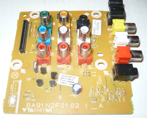 PHILIPS 22PFL3504DF7  TV IO BOARD   A9172MJC / BA91N2F01021 A