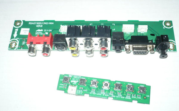 PROSCAN 40LC45S  TV BUTTON ,IR AND I/O BOARDS   RSAG7.820.1342, RSAG7.820.1101