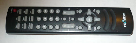 PROVIEW RAC06-RX-020 ORIGINAL TV REMOTE CONTROL