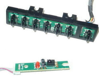 RCA LED40G45RQ TV BUTTON AND IR BOARD RE3242R010, RE0332R010