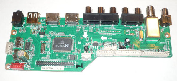 RCA LED55G55R120Q TV MAINBOARD 55120RE01M3393LNA35-B1 / LD.M3393.B