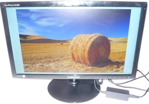 "SAMSUNG S20A300B High Glossy Black 20"" LED Monitor (USED)"