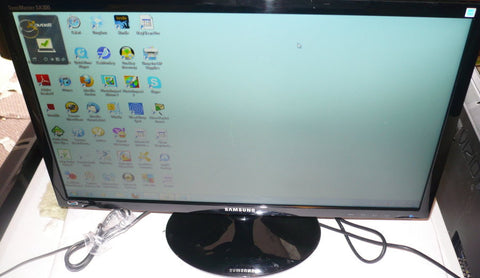 "SAMSUNG LS24A300B Black 24"" Widescreen LED Monitor (small scratch)"
