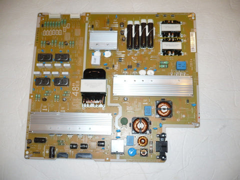 SAMSUNG UN48JS8500FXZA TV POWER SUPPLY BOARD BN44-00833A / L48E8 FHS