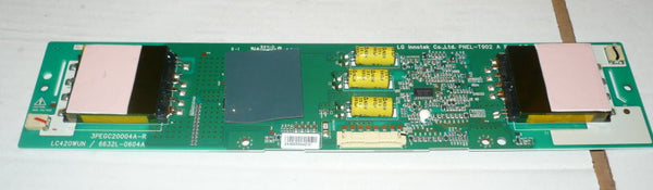 SANYO DP42841  TV INVERTER BOARD   6632L-0604A / 3PEGC20004A-R