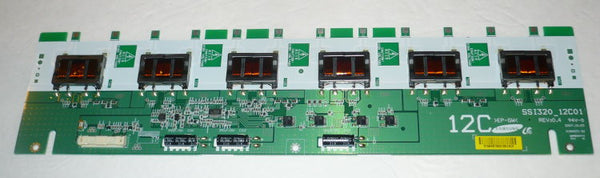 SCEPTRE X322BV-HD TV INVERTER BOARD LJ97-01564B / SSI320 12C01
