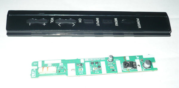 SHARP LCC5277UN  TV BUTTON AND IR BOARD  FE266WJ, NF096WJ