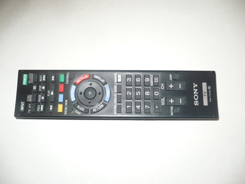 SONY RM-YD102 ORIGINAL TV REMOTE CONTROL
