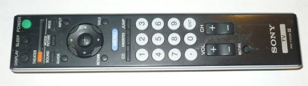 SONY RM-YD026 ORIGINAL TV REMOTE CONTROL