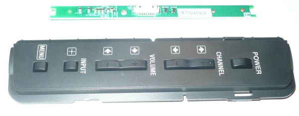 SONY KDL32L5000  TV BUTTON AND IR BOARD   55.71102.A01G.1A