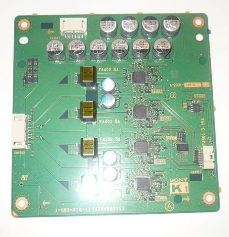 SONY_XBR-79X900B TV K1 BOARD A1978738B / 1-889-203-13