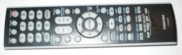 TOSHIBA CT-90302 ORIGINAL TV REMOTE CONTROL
