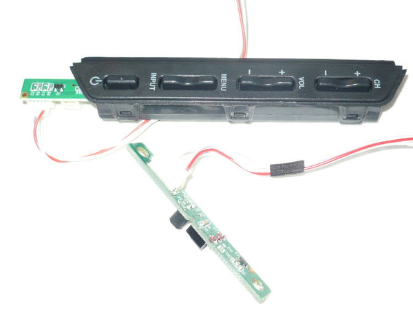 TCL LE32HDF3010 TV BUTTON & IR BOARD 40-32E330-IRC2LG