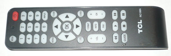 TCL RC198A ORIGINAL TV REMOTE CONTROL