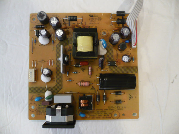 VIEWSONIC VA2452SM MONITOR POWER SUPPLY BOARD 790JD1400602R01 / ILPI-349