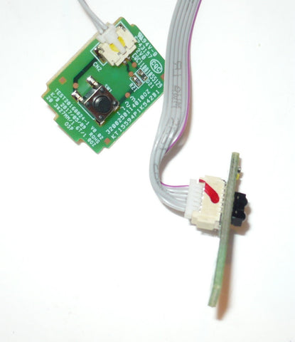 VIZIO D29HN-E4 TV BUTTON AND IR BOARD 32002501140100Z, 32002501130100Z