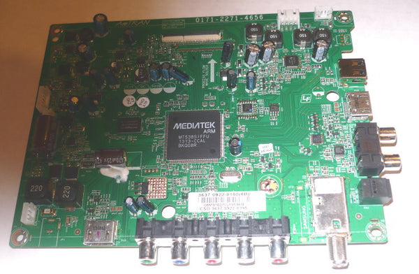 VIZIO E370-A0 TV MAINBOARD 3637-0922-0150 / 0171-2271-4656