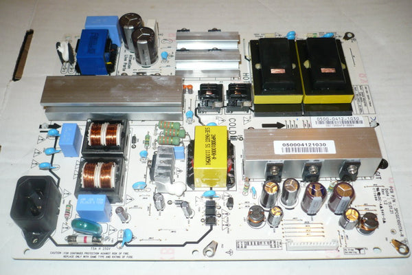 VIZIO E421VO  TV POWER SUPPLY BOARD   0500-0412-1030 / 3PCG10017A-R