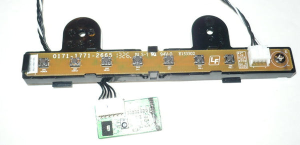 VIZIO E551D-A0 TV BUTTON & IR BOARD 0171-1771-2665, 3655-0062-0189