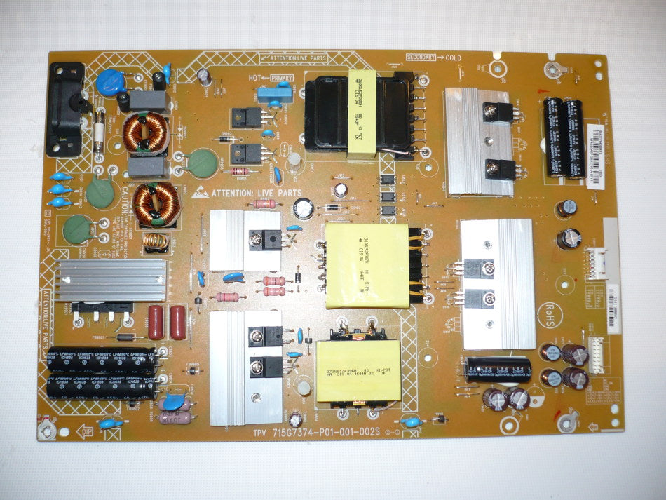 LCD / LED TV REPLACEMENT PARTS | MoreTVParts Hannspree Power Board Schematic Circuit Diagram on