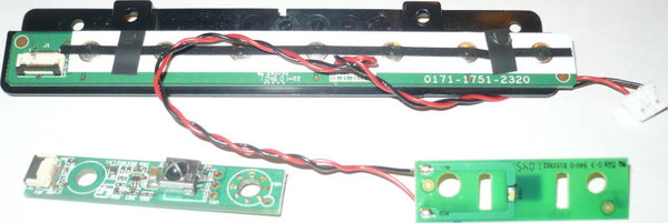 VIZIO M261VP  TV BUTTON AND IR BOARD   3626-0012-0163, 3642-0162-0189, 0171-1751-2320