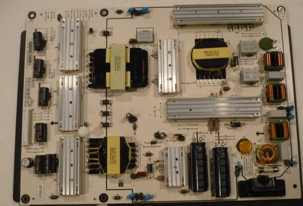 VIZIO V705-G3 TV POWER SUPPLY BOARD 09-70CAR0Q0-00 / 1P-1181X00-1010