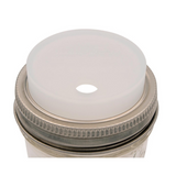"Travel Tea Jar Lid <span class=""subtitle"">BPA-free silicone wide-mouth jar lid</span>"