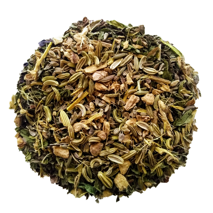 "After Dinner Delight <span class=""subtitle"">Sweet Licorice Root, Mint & Ginger Mix</span>"