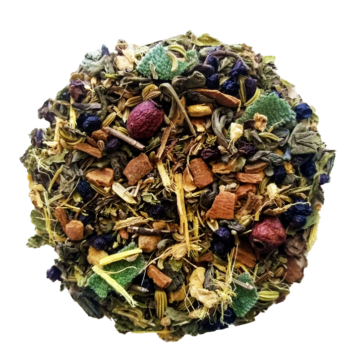"Battle Born <span class=""subtitle"">Earthy & Spiced Green Tea Mix</span>"