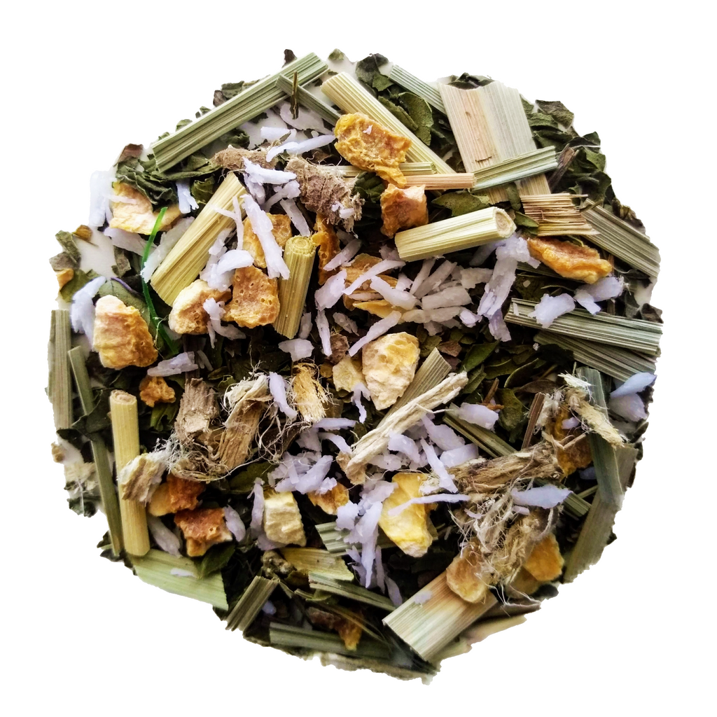 "Bliss <span class=""subtitle"">Fresh Lemon, Coconut & Peach Herbal Blend</span>"