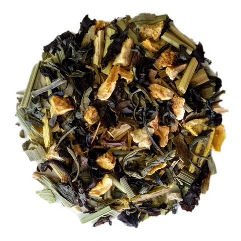 "Brainiac <span class=""subtitle"">Mint, Ginkgo Biloba, Ginseng & Lemon Black Tea Mix</span>"