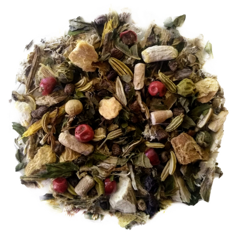 "Calm My Dosha <span class=""subtitle"">Spiced Herbal Mix with Mint, Ginseng & Ginger</span>"