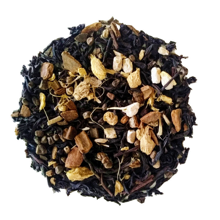 "Chai Ya! <span class=""subtitle"">Spiced Hazelnut Black Tea Chai with Ginseng</span>"
