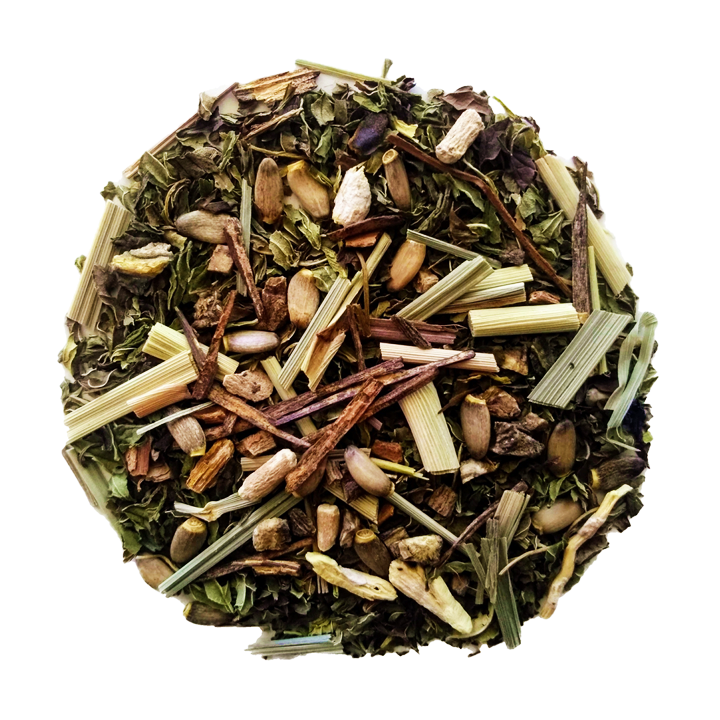 "Chill Baby Chill <span class=""subtitle"">Minty, Lemongrass, Holy Tulsi & Ginseng Mix</span>"