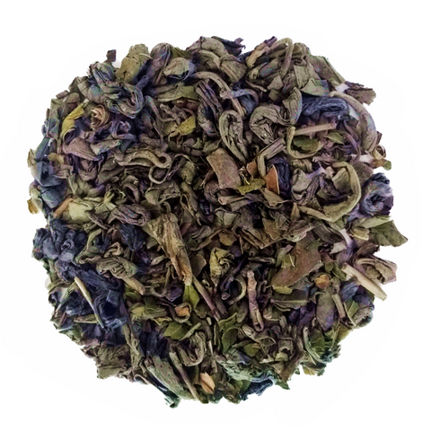 "Cool Pow Bang! <span class=""subtitle"">Robust Gunpowder Green Tea and Peppermint blend</span>"