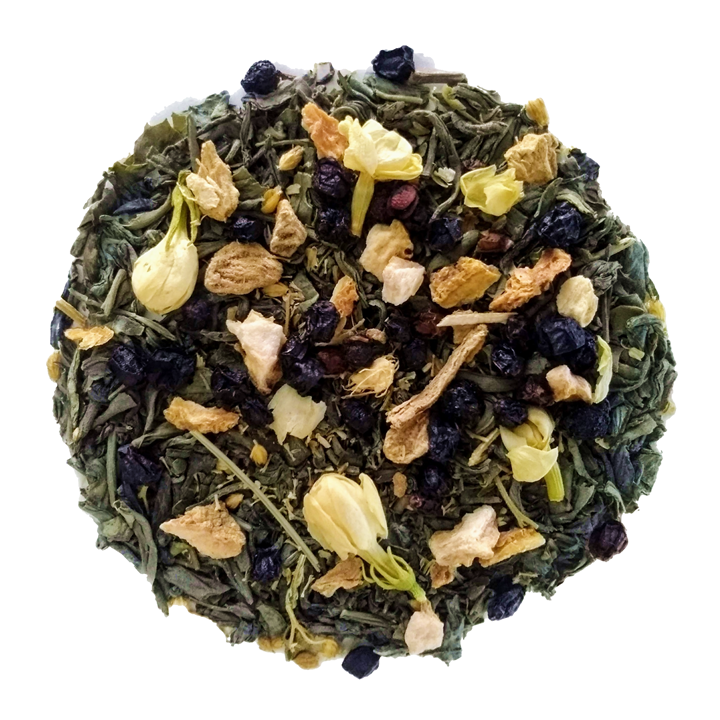 "Fresh Jasmine <span class=""subtitle"">Organic Jasmine Green Tea with Ginger and Lemon</span>"