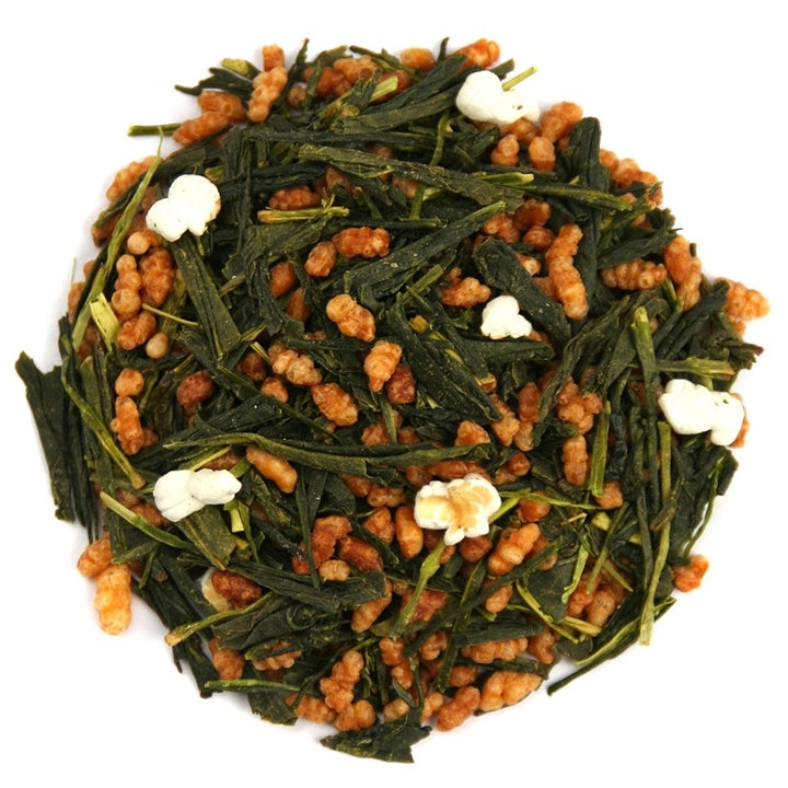 "Genmaicha Green Tea <span class=""subtitle"">Bancha Green Tea with Popcorn & Toasted Brown Rice</span>"