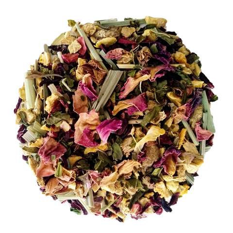 "Hibiscus Chill <span class=""subtitle"">Bright Hibiscus Sweet Floral Mix with Mint</span>"