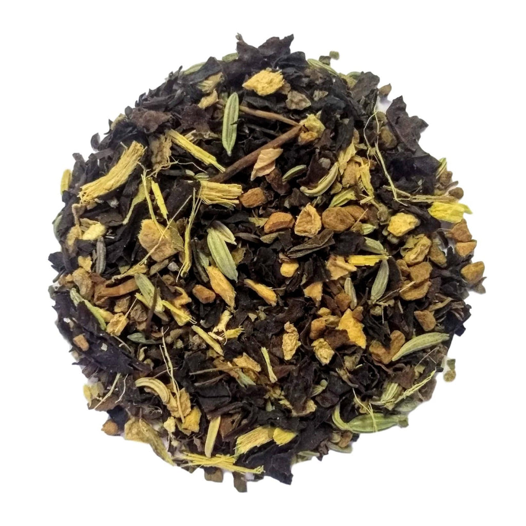"Holy Chai <span class=""subtitle"">toasted yerba mate with holy tulsi & spices</span>"