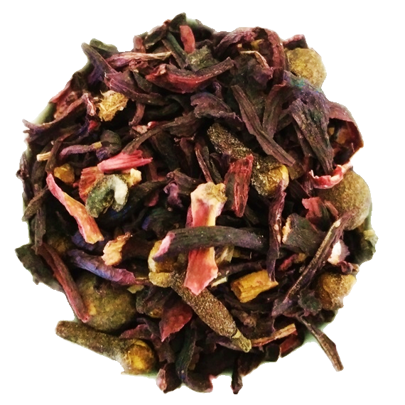"Jamaica Me Blush <span class=""subtitle"">Lime & Brown Sugar infused Spiced Hibiscus Mix</span>"